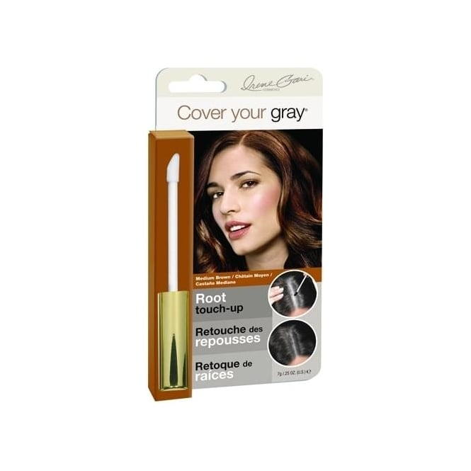 Irene Gari Cover Your Gray Root Touch Up Wand –Jet Black 7g