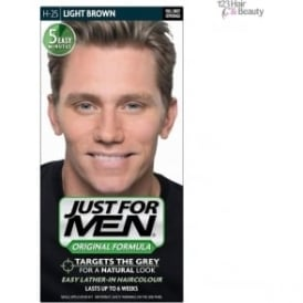Just For Men Haircolour Light Brown (H-25)