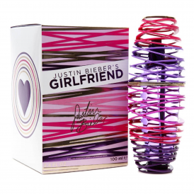 Justin Beiber Girlfriend Eau De Perfume For Her
