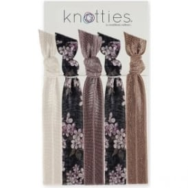 Knotties Hair Ties – Bergamot 5 Pack