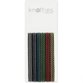 Knotties Wide Elastic Hair Ties – Dizzy Spell 6 Pack