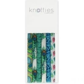 Knotties Wide Elastic Hair Ties – Feather In My Cap 6 Pack