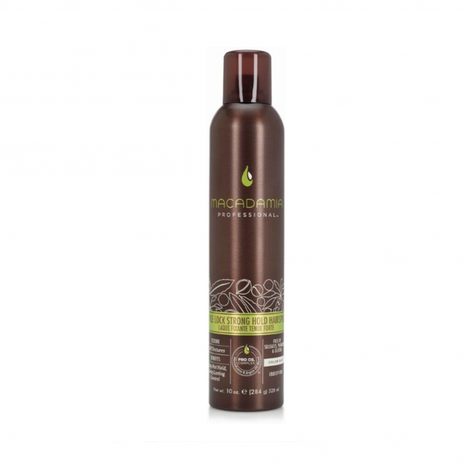 Macadamia Oil DISCONTINUED Style Lock Strong Hold Hairspray
