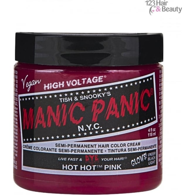 Manic Panic Semi–Permanent Hair Color - Hot Hot Pink