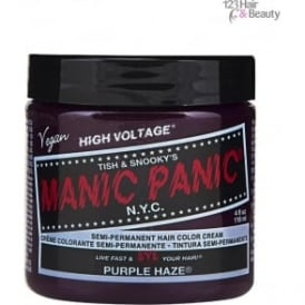 Semi–Permanent Hair Color - Purple Haze