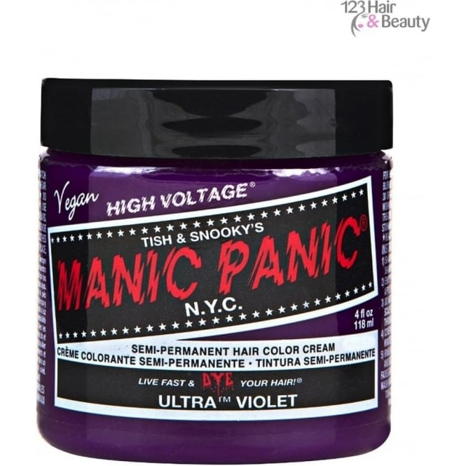Manic Panic Semi–Permanent Hair Color - Ultra Violet