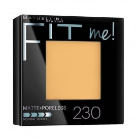 Fit Me Poreless Powder Compact - Natural Buff 230