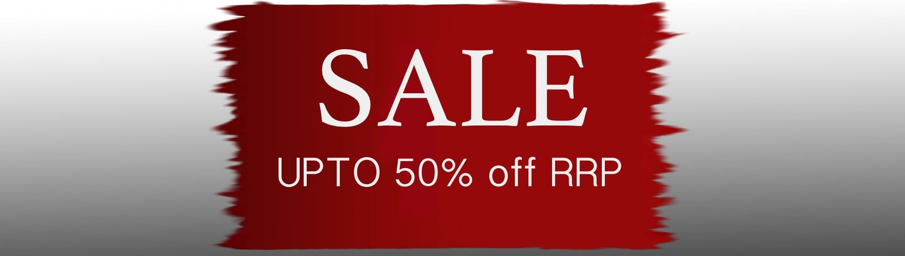 SALE upto 50% off RRP
