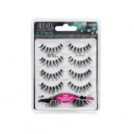 Natural Lash Black Wispies - 5 Pack