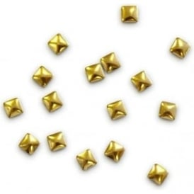 Nazila Love Glamour Gold Studs Square