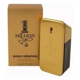 Paco Rabanne 1 Million Eau De Toilette Spray for Him