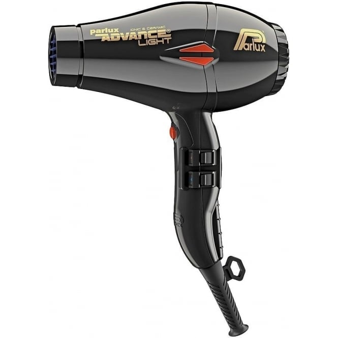 Parlux Advance Light Ceramic and Ionic Hairdryer - Black