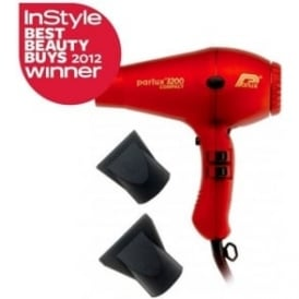 Parlux 3200 Compact Hair Dryer Red