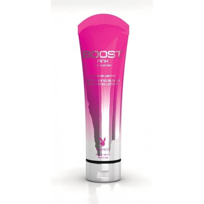 Playboy Boost Pink for Women Optimising Black Bronzing Lotion