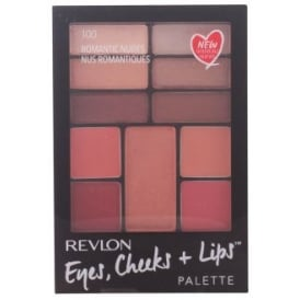 Romantic Nudes Eye, Cheeks & Lips Compact,