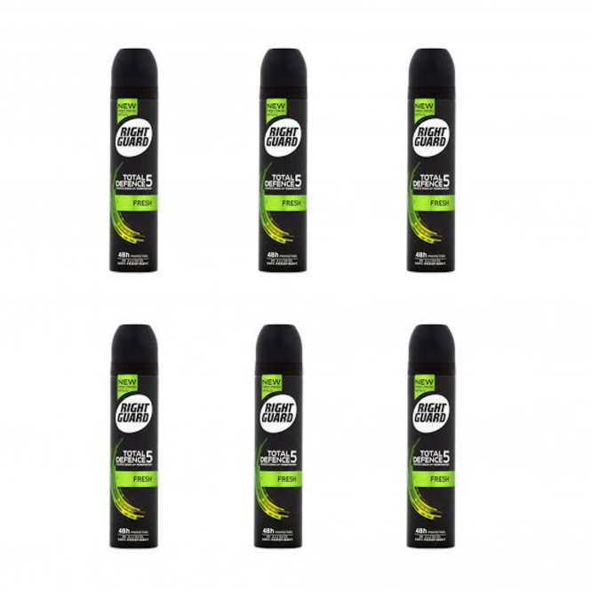 Right Guard X6 Total Defence 5 Fresh 48H Deodorant