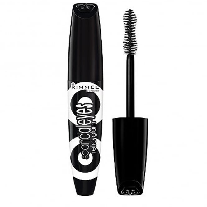 Rimmel NO STOCK Scandal Eyes Retro Glam Mascara Black