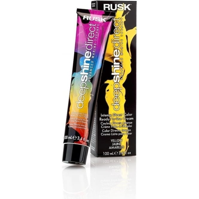 Rusk Deepshine Direct Color Conditioning Cream - Yellow