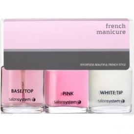 Salon System French Manicure Kit - Pink