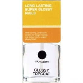 Salon System Long Lasting Super Glossy Topcoat