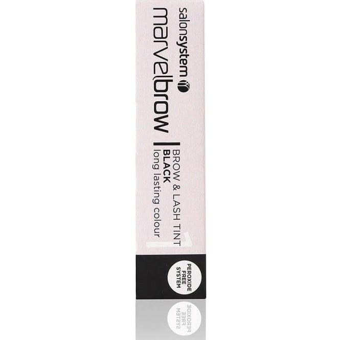 Salon System Marvelbrow Lash Tint Dark - Black