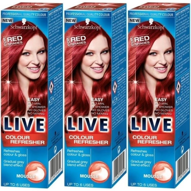 Schwarzkopf 3x LIVE Colour Refresher for Red Shades