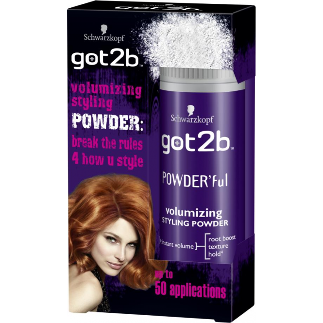 Schwarzkopf 6 x Got2b Powder'ful - Volumising Styling Powder