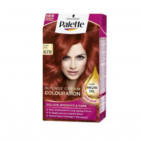 Palette Intensive Cream Colour 678 Ruby Red