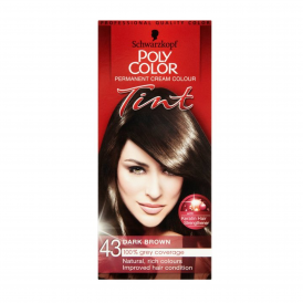 Poly Color Tint 43 Natural Dark Brown