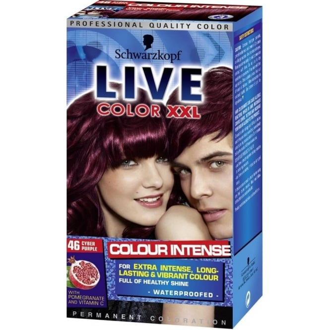 Schwarzkopf X 3 - Live Color XXL - Cyber Purple (46)