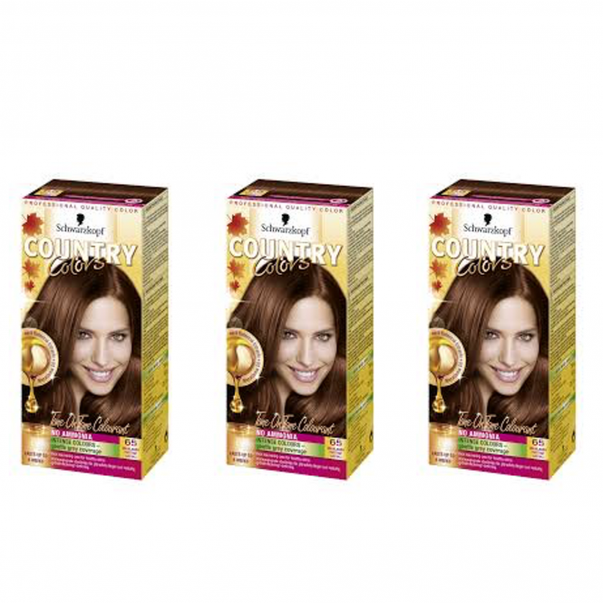 Schwarzkopf X3 Country Colors 65 Highlands - Chestnut
