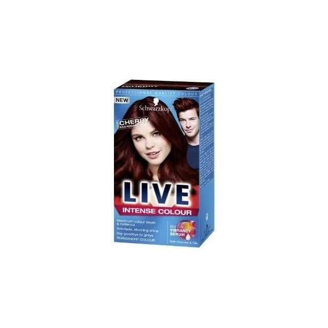 Schwarzkopf x3 LIVE Intense Colour Permanent-Cherry Mahogany 048