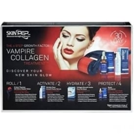 SkinPep 4 Step Growth Factor Vampire Collagen Treatment - 30 days