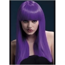 Alexia Fever Wig, 19inch/48cm Purple