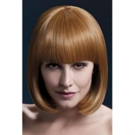 "Fever Elise Wig Auburn, Sleek Bob with Fringe (13"", 33cm)"