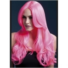 Fever Khloe Wig, 26 inch / 66cm - Neon Pink