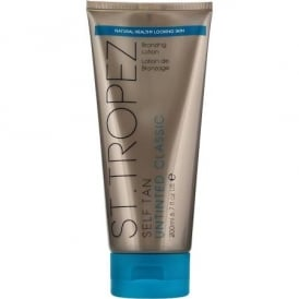 Self Tan Untinted Bronzing Lotion
