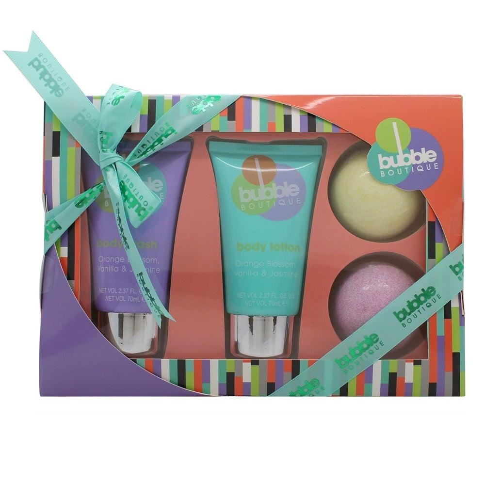 Style Grace Bubble Boutique Bath Body Essentials Gift Set