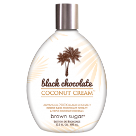 Black Chocolate Coconut Cream