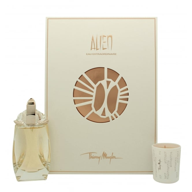 Thierry Mugler Alien Eau Extraordinaire Refillable Eau De Toilette Spray & Scented Candle