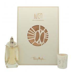 Alien Eau Extraordinaire Refillable Eau De Toilette Spray & Scented Candle