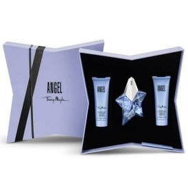 Angel Eau de Parfum 25ml, Body Lotion 50ml, Shower Gel 50ml