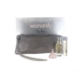 Angel Womanity 2 x 10ml EDP Purse Spray and Bag