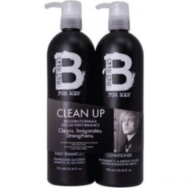 Tigi B for Men Clean Up Tween Duo
