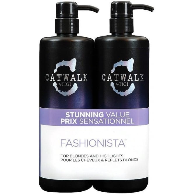 Tigi Catwalk Fashionista Tween (2 x 750ml)