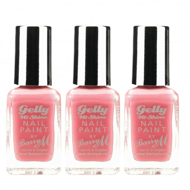 Barry M X3 Gelly Hi Shine Nail Paint Dragon Fruit